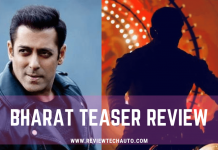 Bharat Teser Review