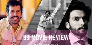83 Movie Review