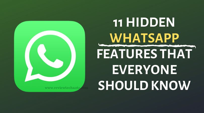 Hidden Whatsapp Features That Everyone Should Know