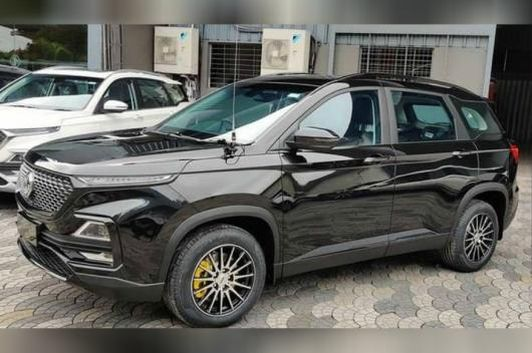 Customised MG Hector. (Image source: YouTube/<a href=