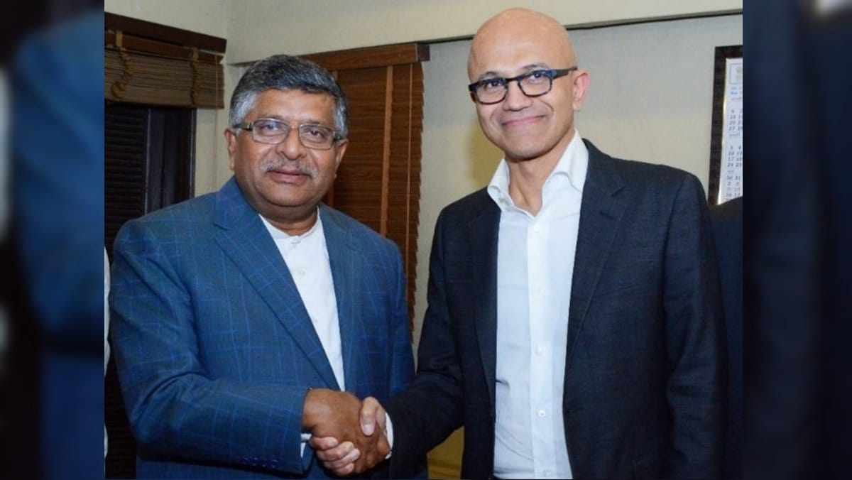 Discussed Data Sovereignty, Digital India With Nadella: Prasad