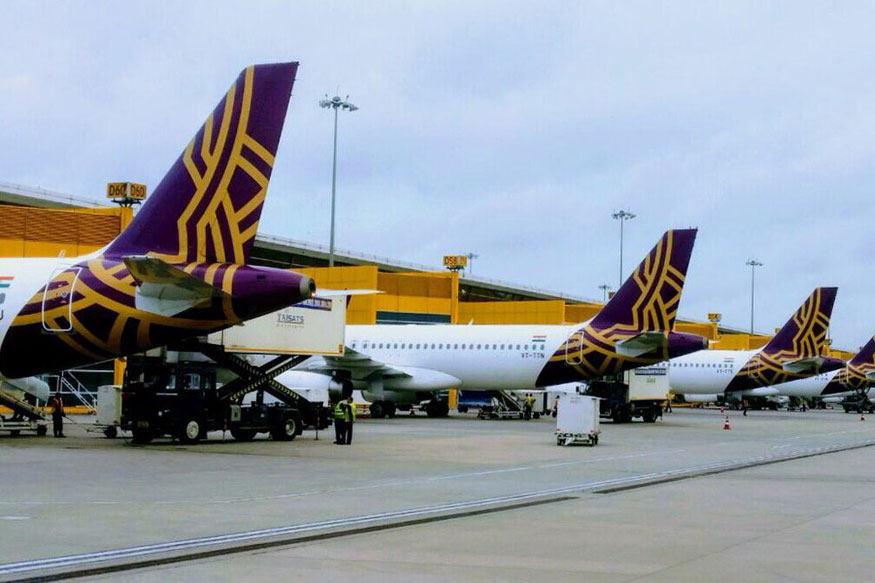 Vistara Temporarily Reduces Flights to Bangkok and Singapore Due to Coronavirus Scare