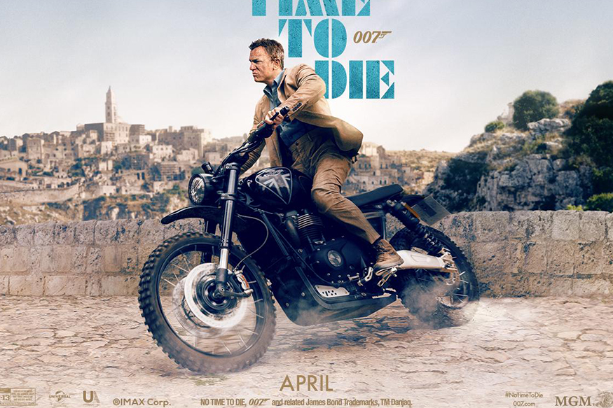 James Bond to Ride Triumph Scrambler 1200 XC XE in Upcoming Movie 'No Time to Die'