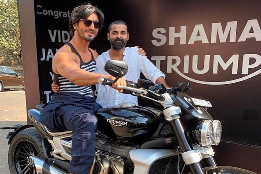 Bollywood Actor Vidyut Jammwal Buys Triumph Rocket 3 R Cruiser Motorcycle Worth Rs 18 Lakh