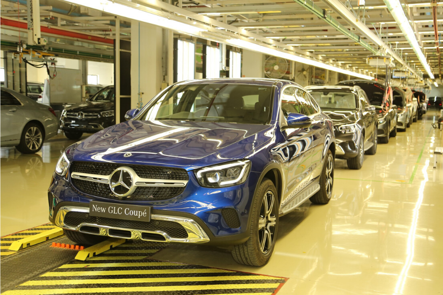 Mercedes Benz GLC Coupe Launched in India at Rs 62.70 Lakh