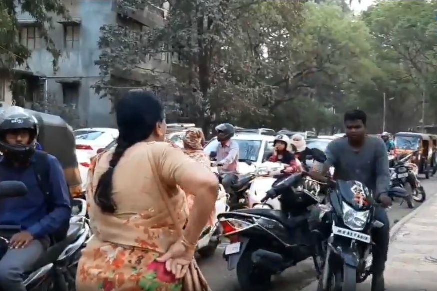 Anand Mahindra Praises Pune Teacher for Stopping Bikers Riding on Footpaths