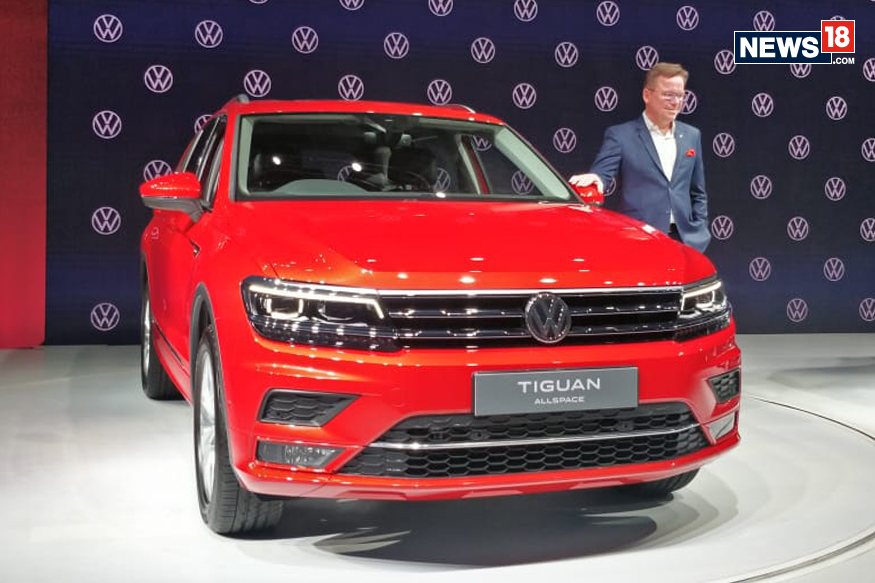 Volkswagen Tiguan Allspace 7-Seater SUV Launched in India at Rs 33.12 Lakh