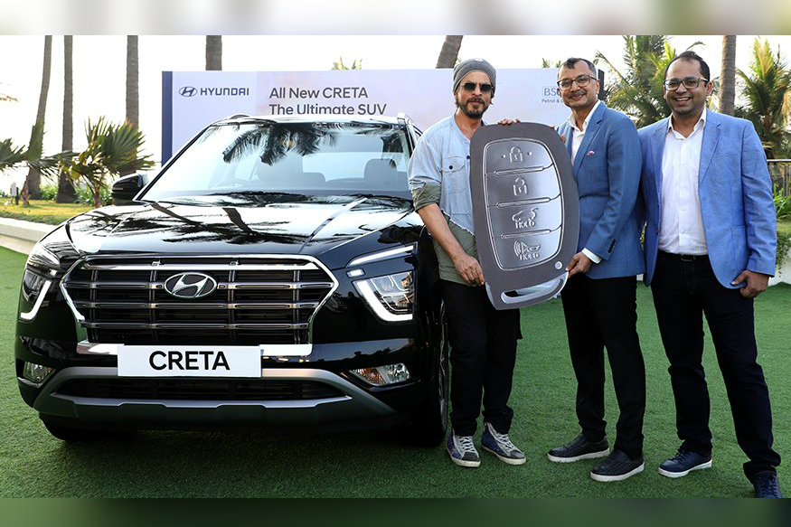 Shahrukh Khan Gets All-New Hyundai Creta as Deliveries of SUV Begins in India