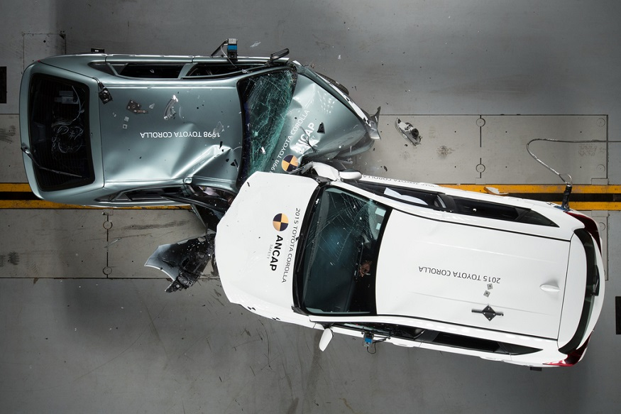 Here's How Car Safety Has Evolved Over the Years - From Seatbelts to Autonomous Braking