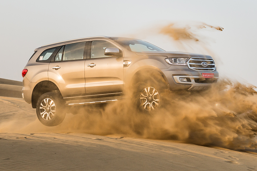 2020 Ford Endeavour BS-VI First Drive Review: When Less is More and Mighty