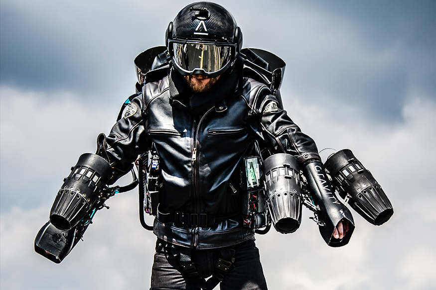 Meet the Man Who Flies With a Jet Suit; In Conversation with Sam Rogers – Watch Video