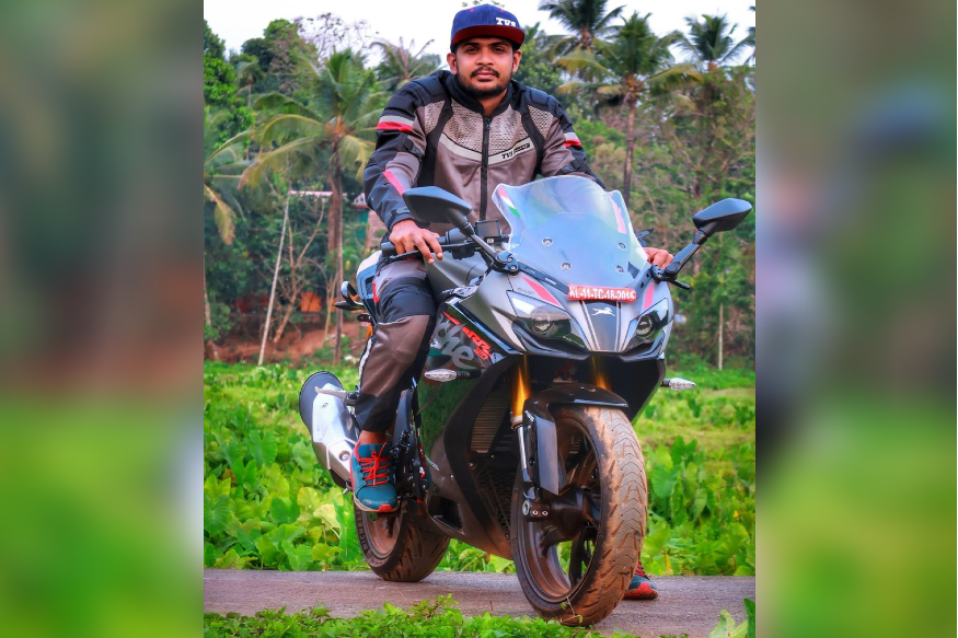 TVS Gifts Apache RR 310 to Rider Who Lost His Bike Amidst Coronavirus Pandemic