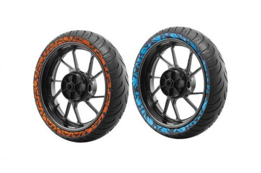 CEAT colourful Zoom RAD tyres  (Image: CEAT Tyres)