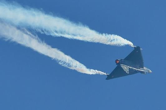 The jet was airborne for 40 minutes.  (File photo: PTI)
