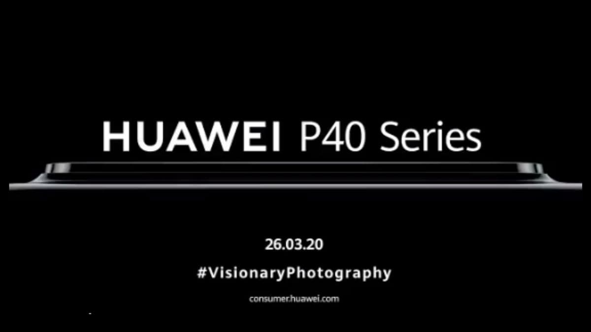 Huawei P40 Series to Launch on March 26 as a Part of an Online Event