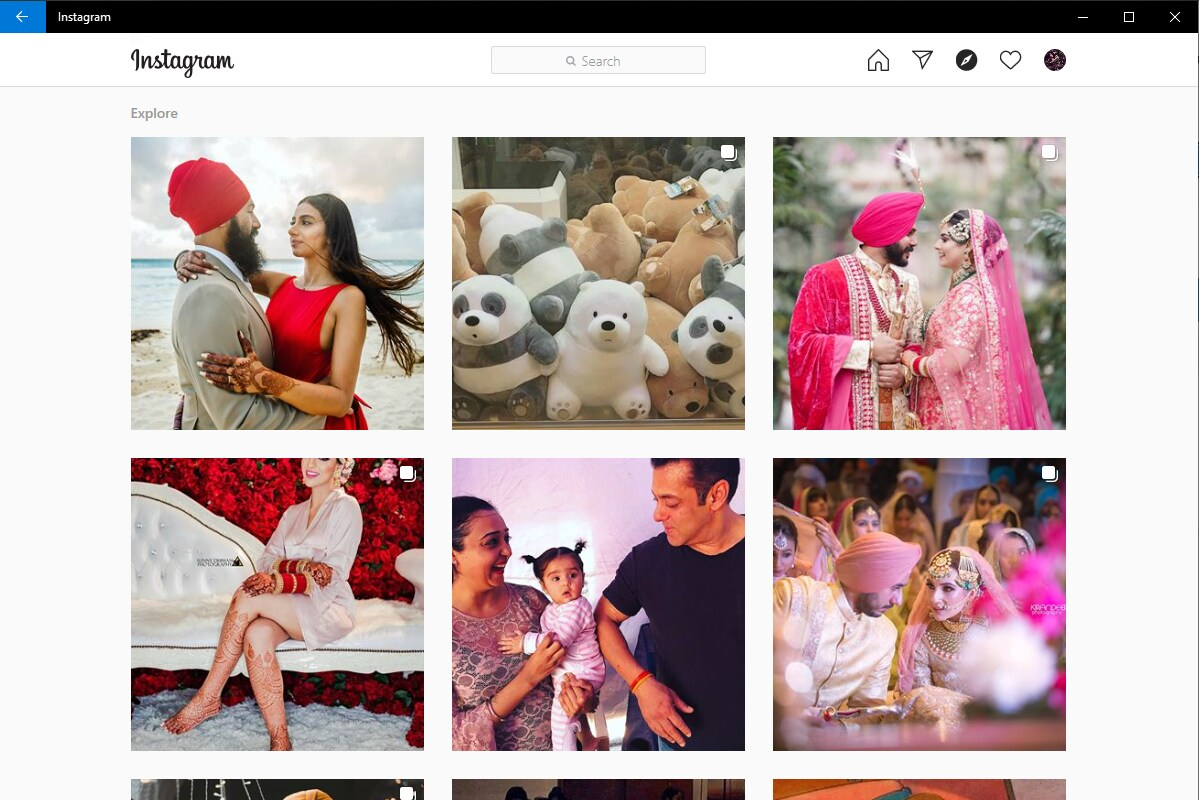 Instagram Releases Progressive Web App With Direct Messaging Feature on Microsoft Store