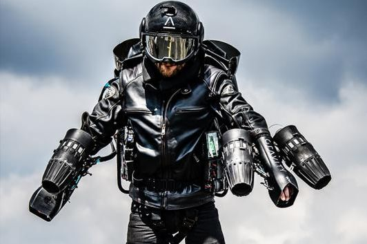 Flying with a Jet Suit is now a reality thanks to Gravity Industries. (Photo: Gravity Industries)