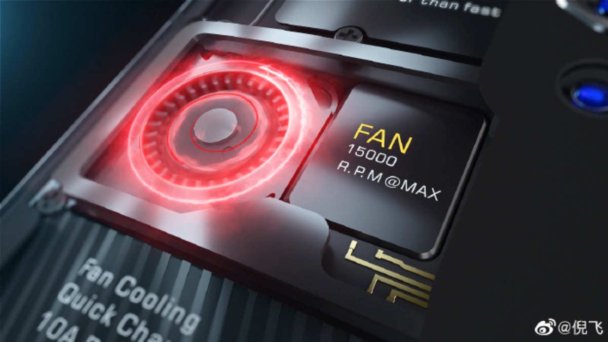 Nubia Red Magic 5G Active Fan Cooling Solution Explained by CEO Ni Fei