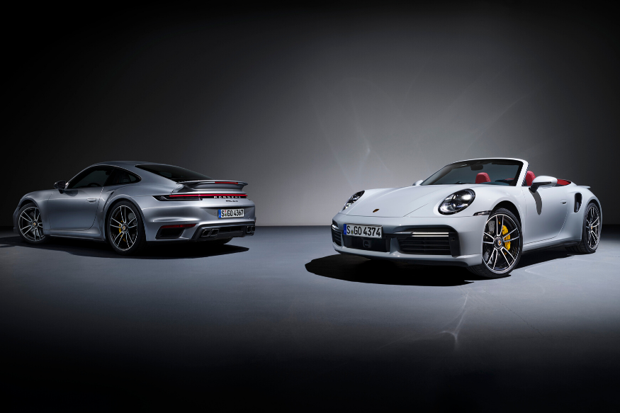 Porsche 911 Turbo S Launched; Available in Coupé and Cabriolet Body-Types