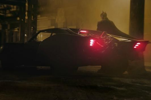 The new Batmobile. (Image source: Twitter/ <a href=