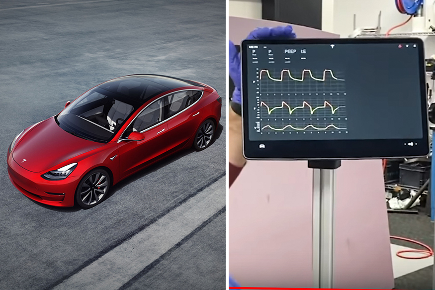 Tesla Shares Update on Ventilator Design That Uses Model 3 Parts: Watch Video