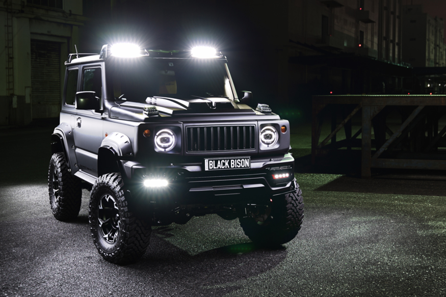 This Suzuki Jimny Black Bison is a Customised Off-Road Masterpiece With an Intimidating Design