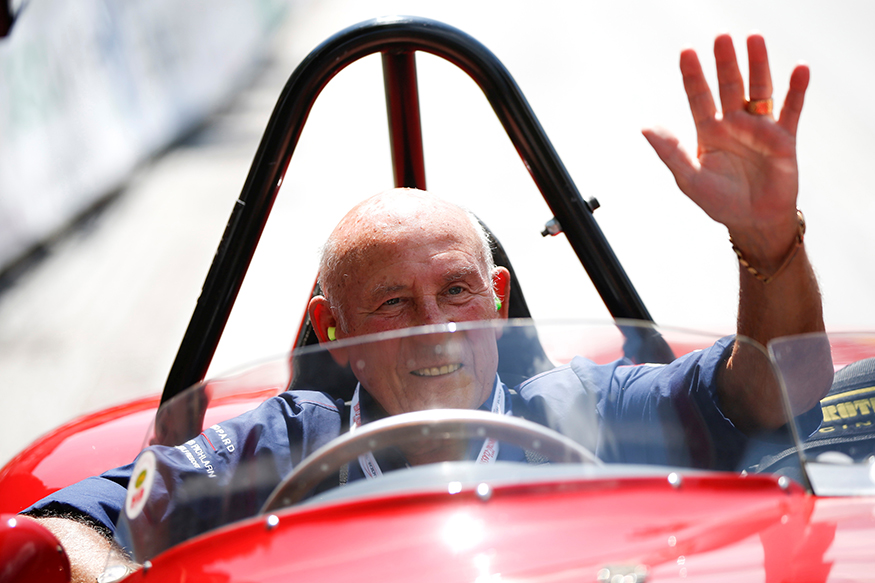 Remembering Sir Stirling Moss, the Great British Racing Driver and a Motor Sport Legend