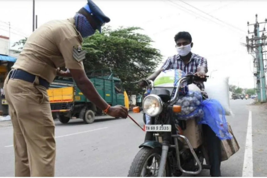 COVID-19 Lockdown: TN Police Adopts Innovative New Methods to Keep People Off the Streets