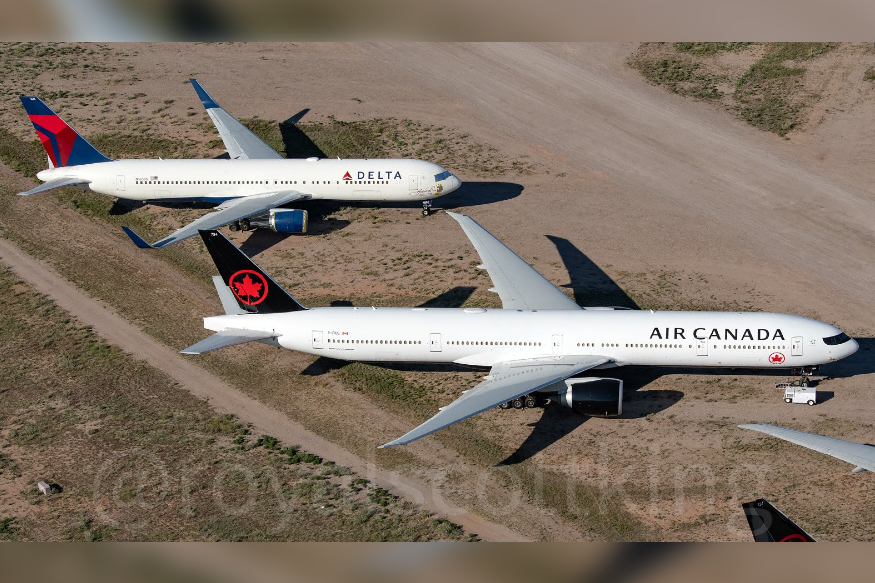 Heartbreaking Images of Planes Parked in Desert Reveals Impact of COVID-19 on Aviation World