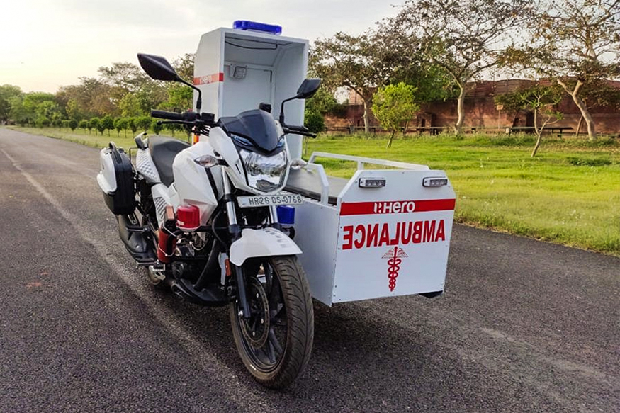 Coronavirus Lockdown: Hero MotoCorp Donates 60 First-Responder Mobile Ambulances