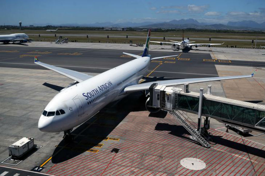 South African Airways on Brink of Collapse; Lays Off All 4,700 Workers Due to COVID-19 Impact