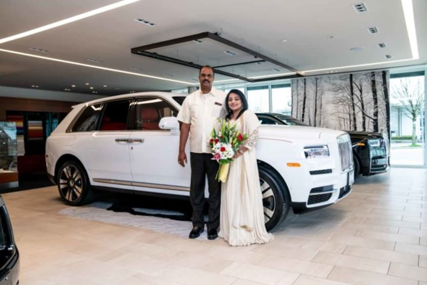 Indian gifts wife Rolls-Royce Cullinan.
