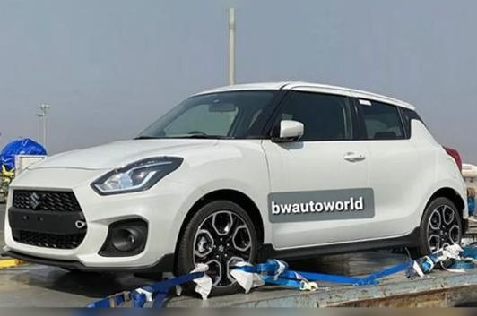 Suzuki Swift Sport spotted. (Image source: Instagram/Bwautoworld)