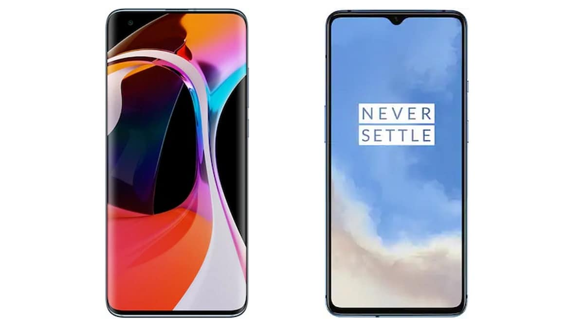 Mi 10 vs OnePlus 7T: Price in India, Specifications Compared
