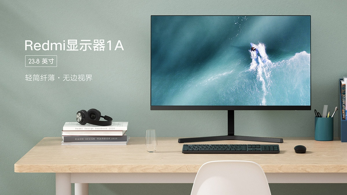 Redmi Display 1A Monitor With 23.8-Inch Full-HD IPS Screen Launched