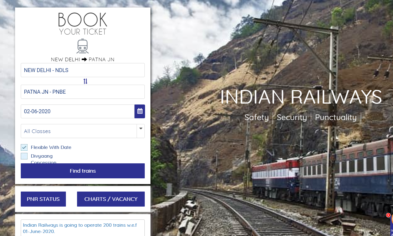 Train services to resume from June 1: How to book tickets online | Gadgets Now