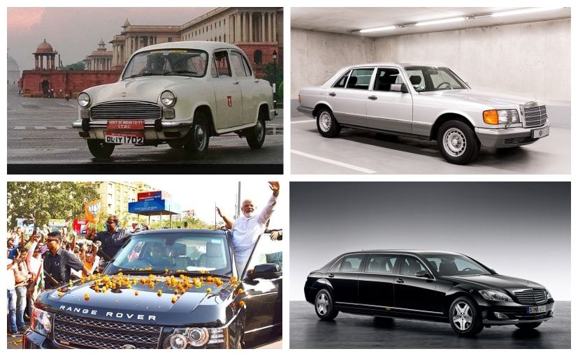 Driving the state heads has been the humble HM Ambassador as well as Mercedes-Benz S-Guard Pullman